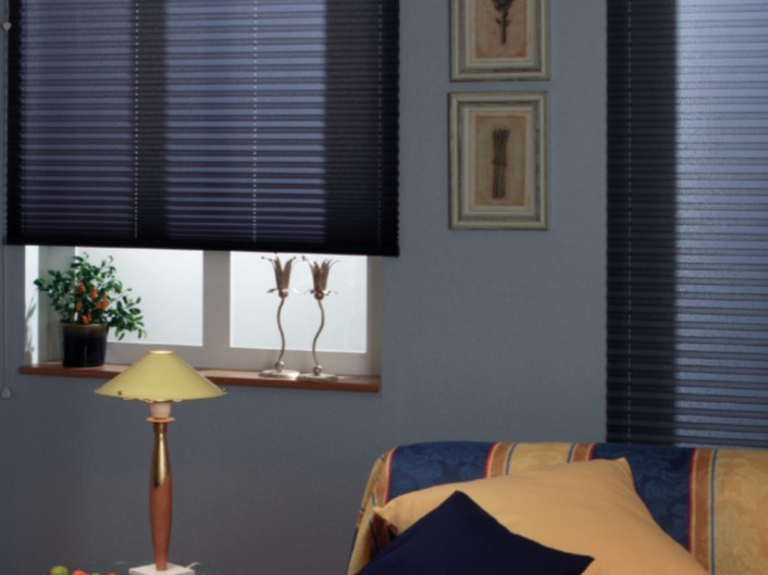 Fabric pleated blind SOFTLUX by Arquati Service