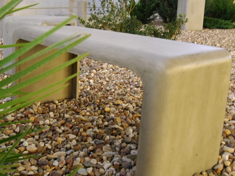 Backless cement Bench SOFTSHAPES (100) | Bench by Sit