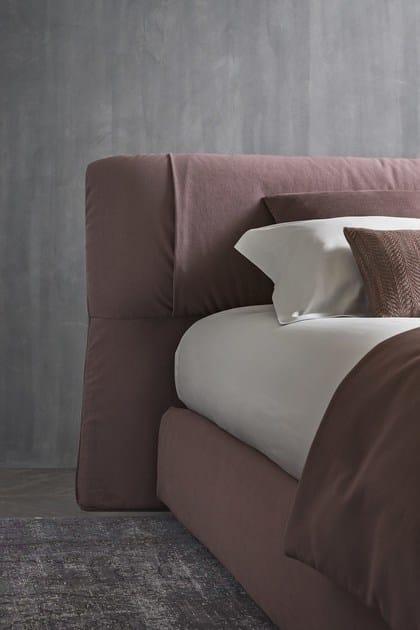 Softwing letto by flou design carlo colombo - Letto testiera imbottita ...