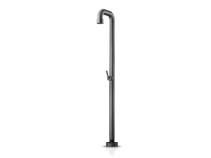 Floor standing steel shower panel SOHO 01 by JEE-O