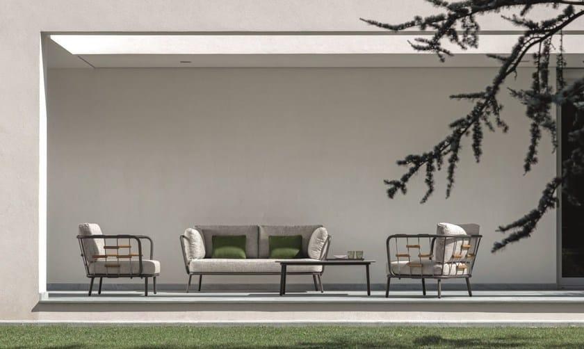 SOHO | 2 Seater Garden Sofa Soho Collection By Talenti Design Marco Acerbis