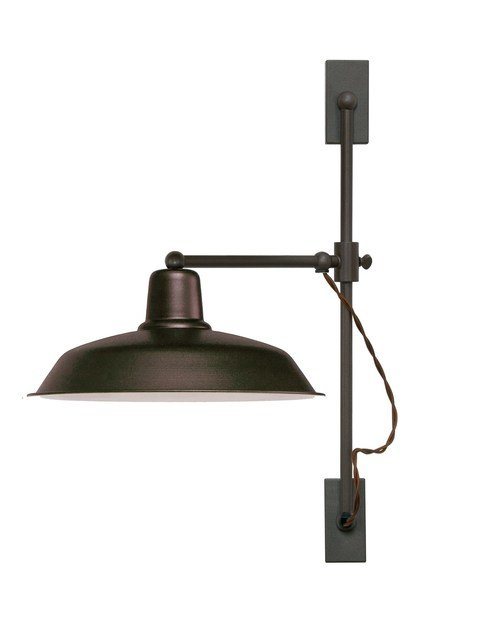Adjustable direct light fluorescent metal wall light SOHO A | Wall lamp by luxcambra