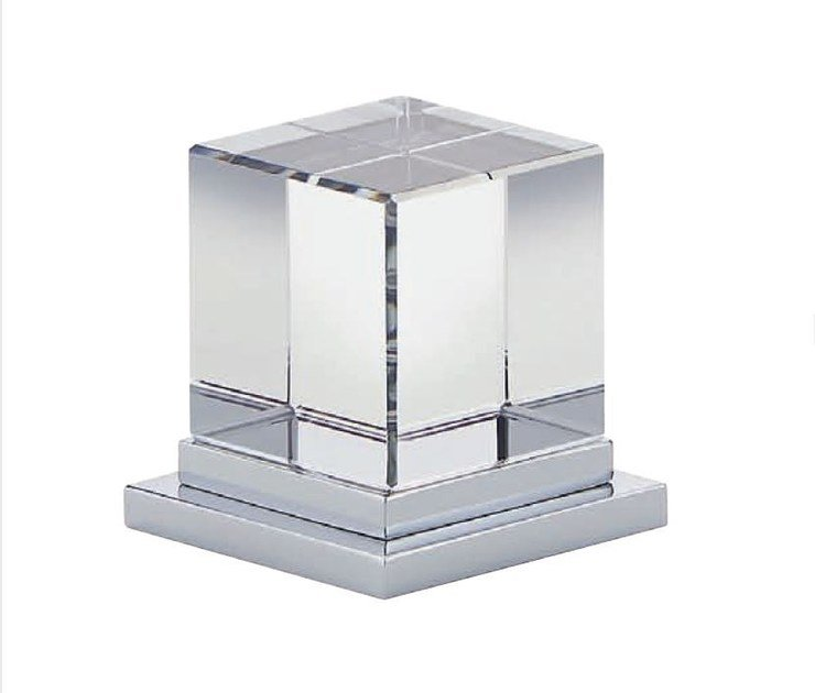 Contemporary style chrome-plated 1 hole metal bathtub mixer with polished finishing SOHO | Bathtub mixer by INTERCONTACT