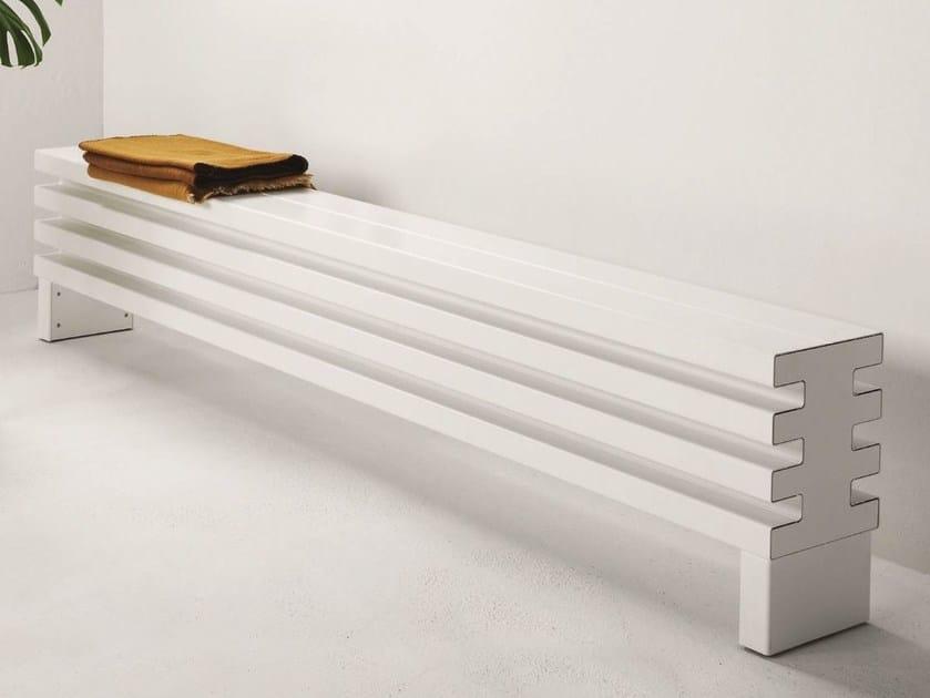 Soho Bench Radiator By Tubes Radiatori Design Ludovica