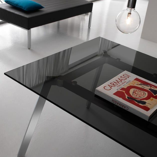 SOHO | Scrivania in vetro Collezione Soho By Quinti Sedute