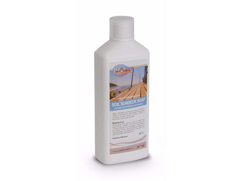Surface cleaning product SOIL SUNDECK SOAP® by Tecsit System