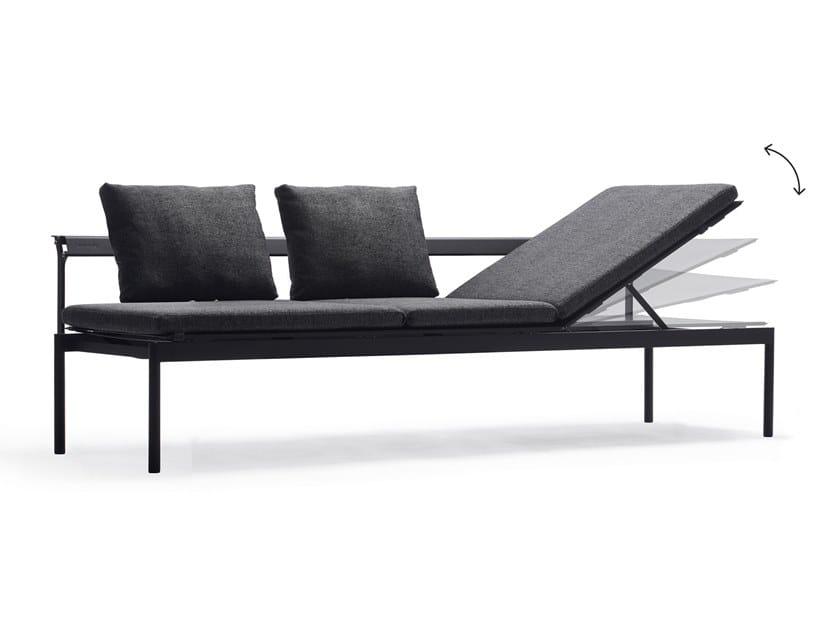 Garden sofa / sun lounger SOL+LUNA AUSTRALIS by Extremis