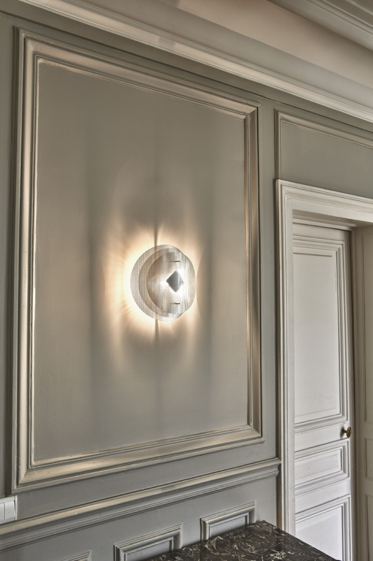 Thierry Vidé Inox Acciaio Solaire Applique Design In Ok0wNX8nPZ