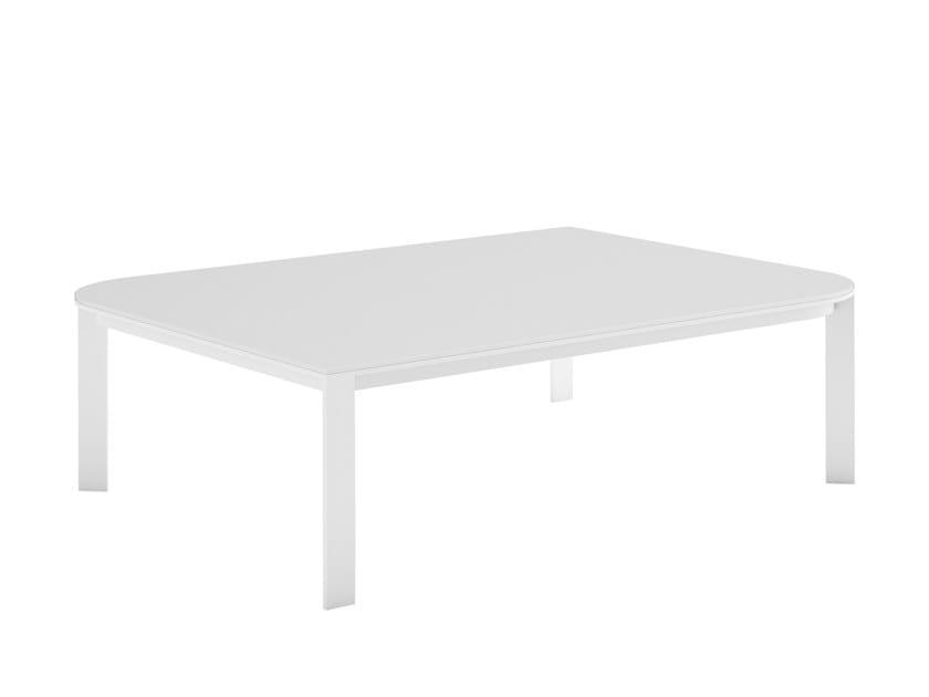 Rectangular Dekton® coffee table SOLANAS | Rectangular coffee table by GANDIABLASCO