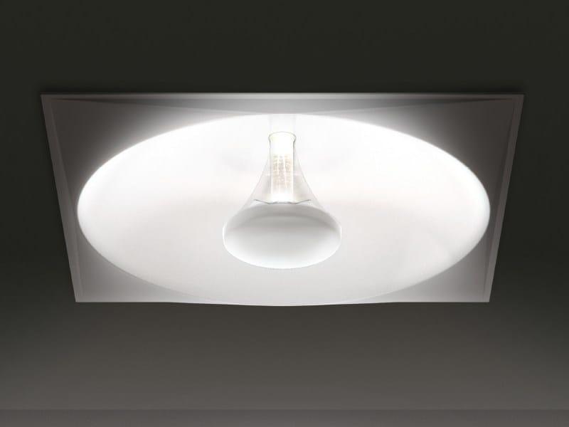 Lampade Da Soffitto A Led Artemide : Lampada da soffitto a led incasso solar by artemide design eric solè