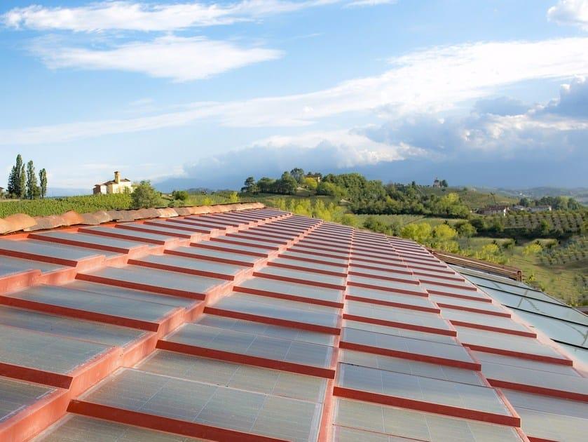 Photovoltaic roof tile SOLARTEG® GTFV100 by SOLARTEG