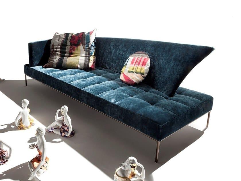 Fabric sofa SOLE LUNA by ERBA ITALIA