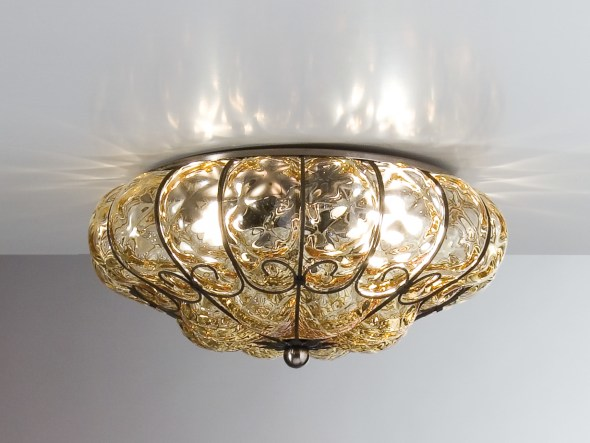 Murano glass ceiling lamp SOLE MC 170 by Siru