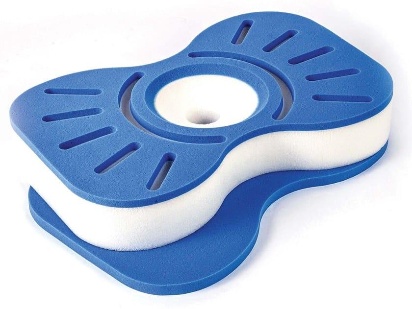 Ergonomic memory foam cervical pillow SOLE by Manifattura Falomo