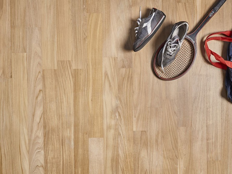 Prefinished wooden parquet SOLID TEAK | OIL FINISHED by DELBASSO PARQUET