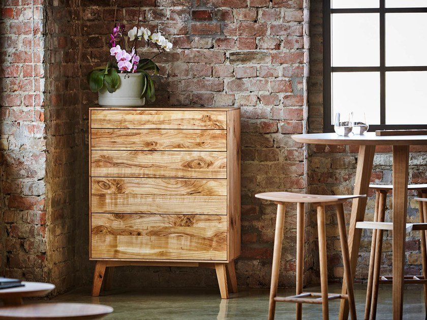 Solid wood chest of drawers FINN | Chest of drawers by sixay furniture