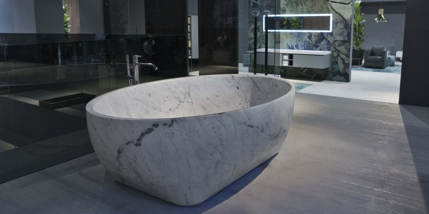 Nice Carrara Marble Bathtub SOLIDEA | Carrara Marble Bathtub By Antonio Lupi  Design