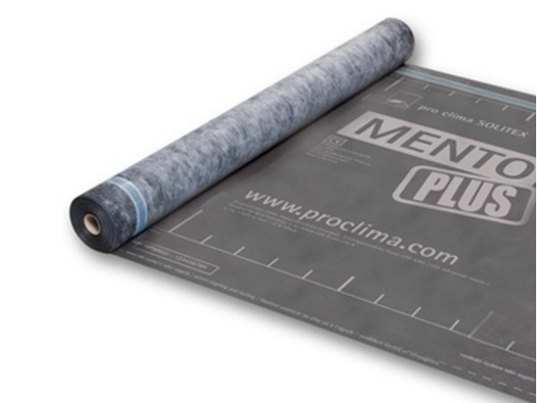 Breathable and protective sheeting SOLITEX MENTO PLUS CONNECT by pro clima®
