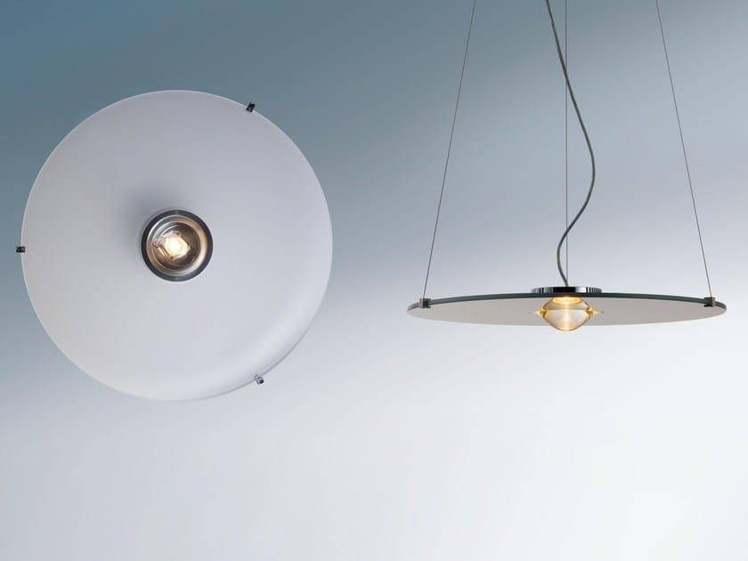 Lampada a sospensione a led in alluminio solo licht im raum