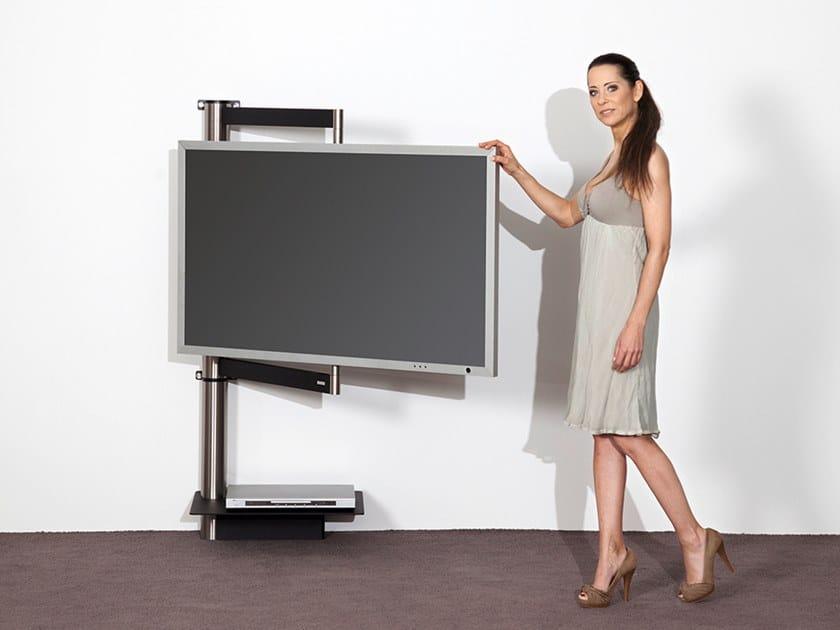 Wissmann Raumobjekte Porta Tv Girevole.Supporto Per Monitor Tv Da Parete Solution Art112 Supporto Per