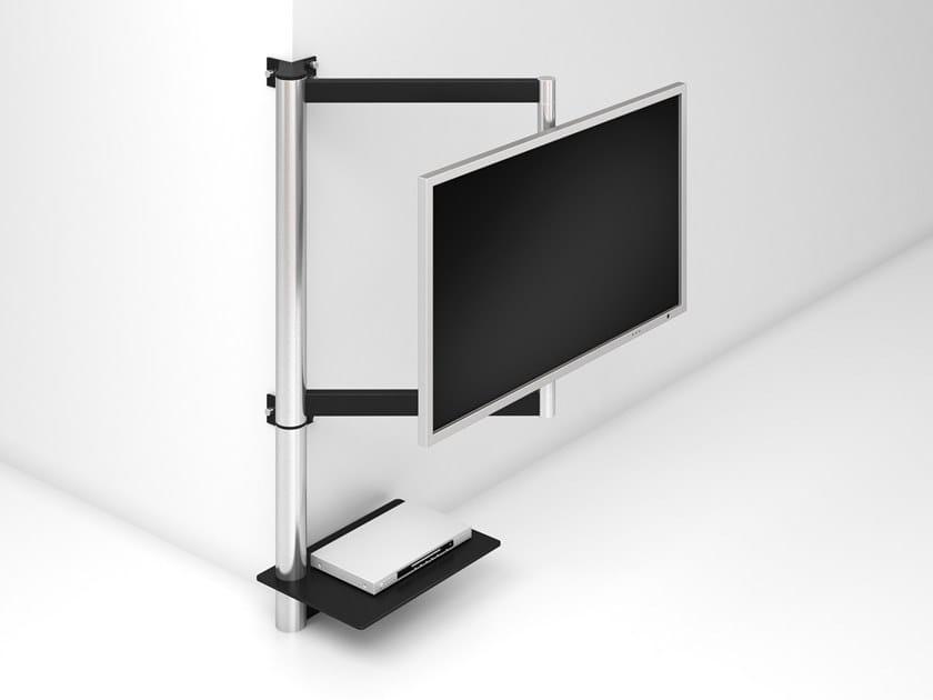 Staffa Porta Tv Angolare.Solution Art112 Supporto Per Monitor Tv