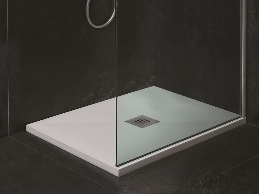 Custom Mineralmarmo® shower tray SOLUTION H3 by AZZURRA sanitari