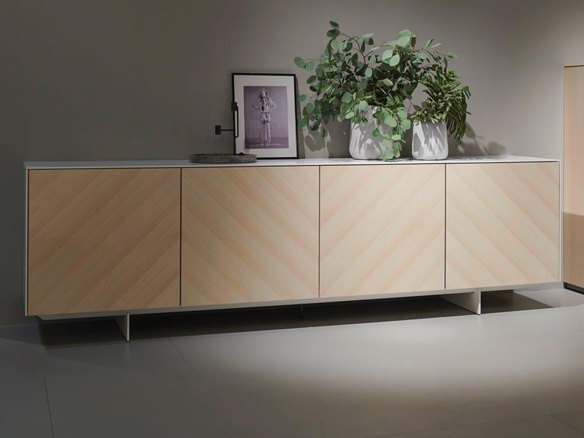 Oak sideboard with doors SOMA EDITION 2019 | Sideboard by Kettnaker