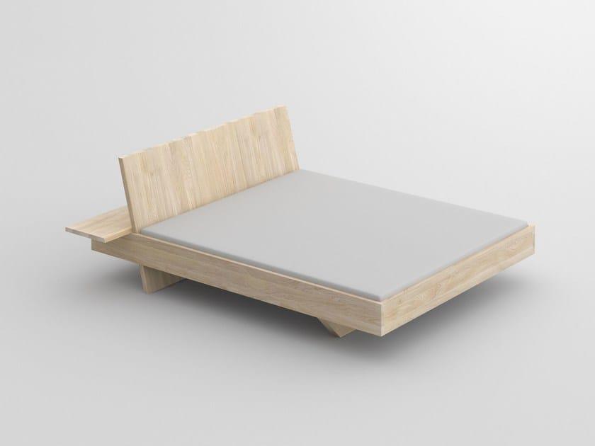 Letto matrimoniale in legno massello SOMNIA - Vitamin Design
