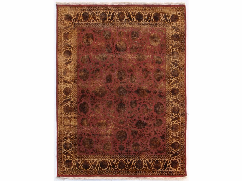 Tappeto fatto a mano SONJA QNQ-10 Red/Medium Ivory by Jaipur Rugs