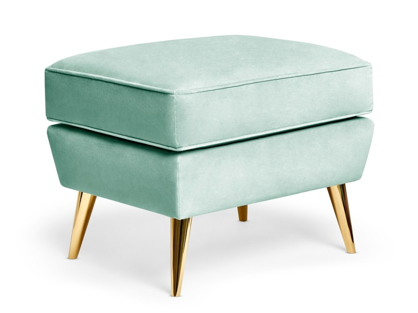 Fabric footstool SOPHIA | Footstool by Munna