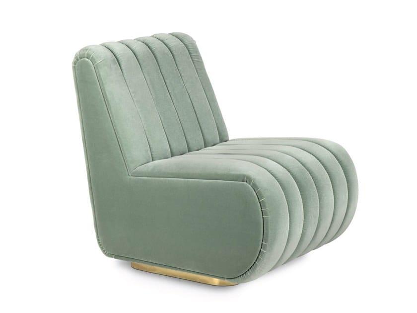Fabric armchair SOPHIA | Armchair by Delightfull