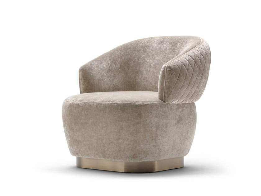 Fabric armchair SOPHIE | Armchair by OPERA CONTEMPORARY