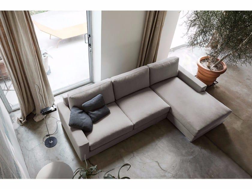 Divano angolare imbottito a 3 posti SOPHIE | Divano con chaise ...