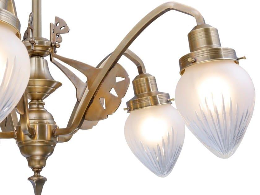 ILampadario In Patinas Ottone Lighting Sopron A Fatta Mano ARL3j54q