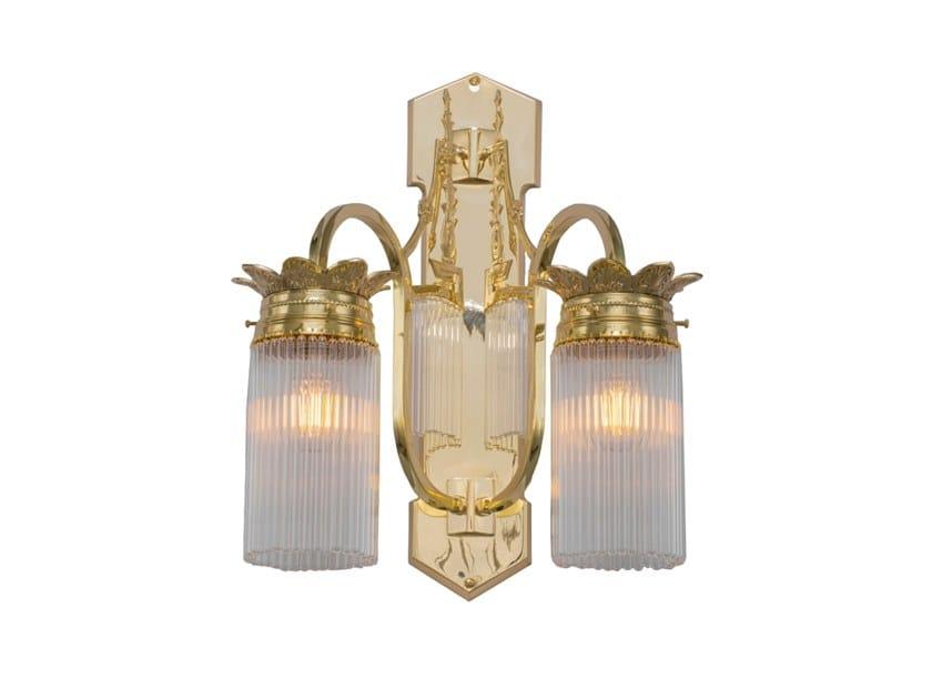 Handmade brass wall lamp SOPRON VI | Wall lamp by Patinas Lighting