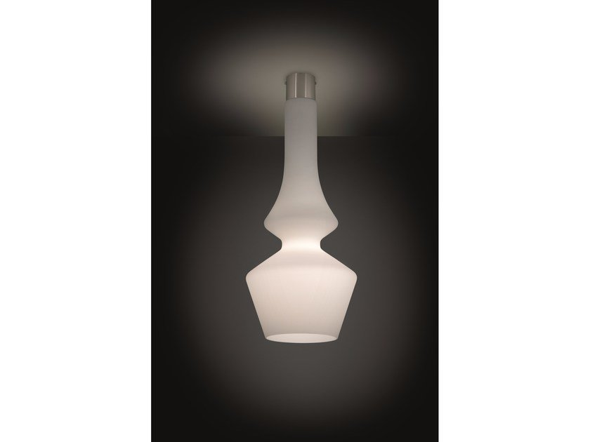 Blown glass ceiling lamp SORRENTO   Ceiling lamp by IDL EXPORT