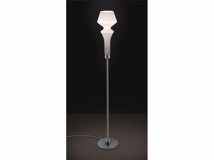 Satin glass floor lamp SORRENTO | Floor lamp by IDL EXPORT