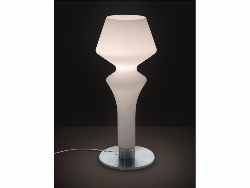 Satin glass table lamp SORRENTO | Table lamp by IDL EXPORT