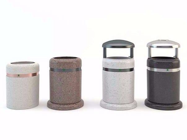 Litter bin with lid SORRENTO | Litter bin with lid by Bellitalia