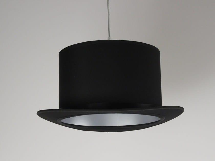 Fabric pendant lamp SOSPENSIONE A CAPPELLO CILINDRO by Ipsilon PARALUMI