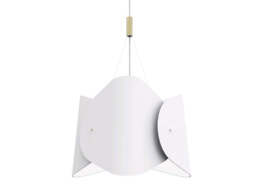 LED PMMA pendant lamp SOSTI by Inventive