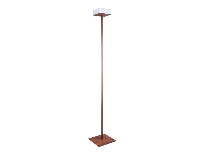 LED steel floor lamp SOTTILE by ENGI