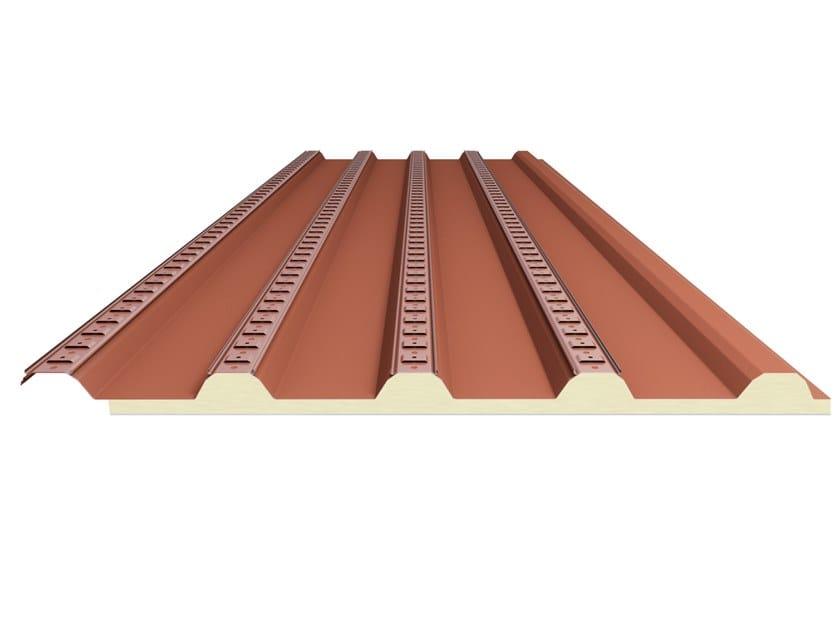 Sistema bajo teja/cubierta en acero SOTTOCOPPO COIBENTATO by Alubel