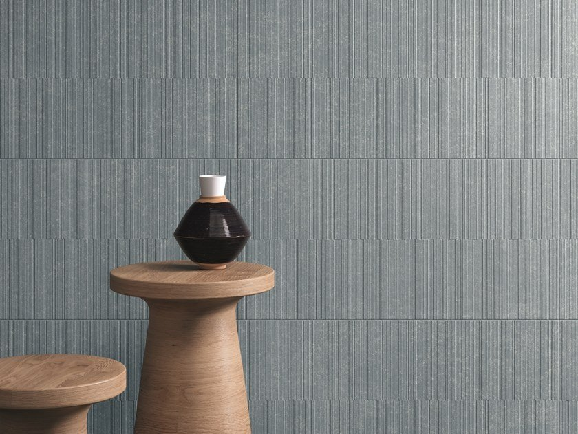White-paste wall tiles SOUL BAY WATERY BLUE by Marca Corona
