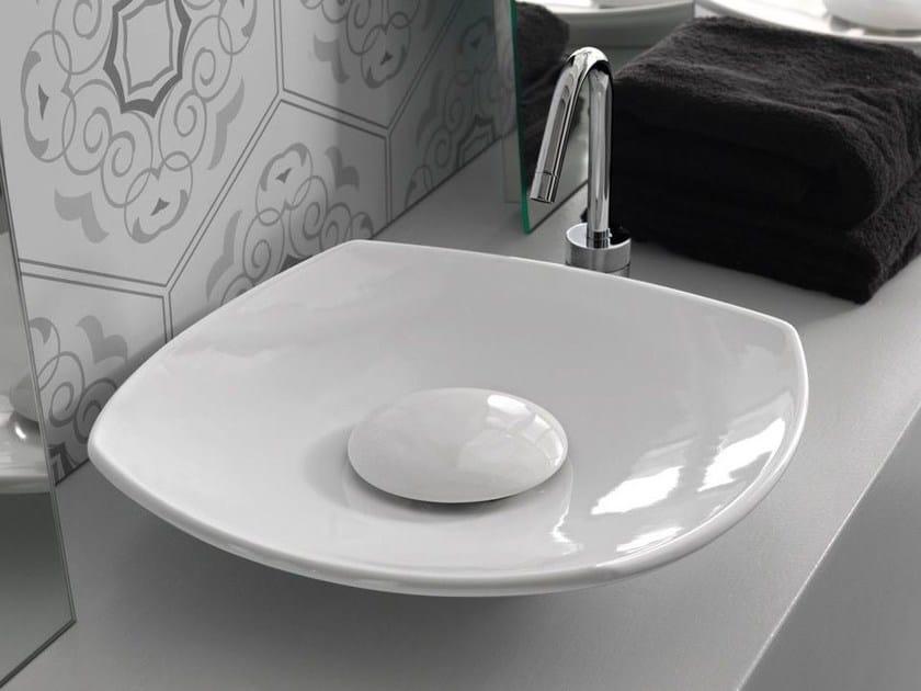 Countertop ceramic washbasin SOUL | Ceramic washbasin by Hidra Ceramica
