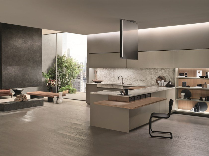 SOUL | Linear kitchen By ERNESTOMEDA