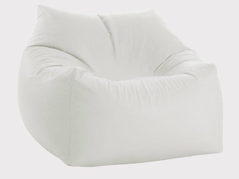 Upholstered armchair SOUL by JUMBO BAG