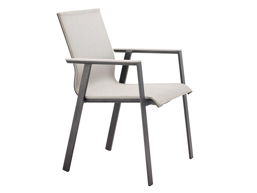 Perfekt Stackable Aluminium Garden Chair SOUL By Solpuri