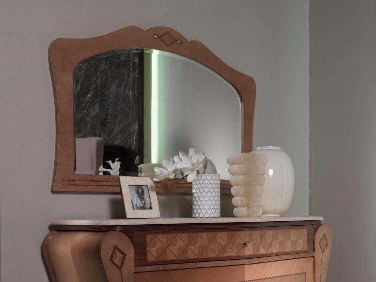 Classic style wall-mounted mirror SP35 by Carpanelli Classic