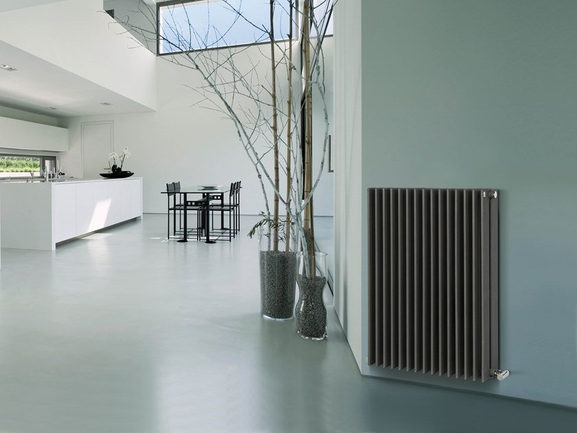 Hot Water Horizontal Decorative Radiator SPACE | Horizontal Decorative  Radiator By DELTACALOR